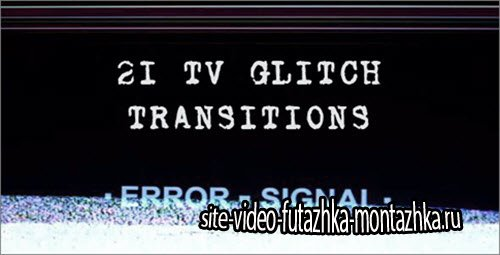 Tv Glitch Transitions
