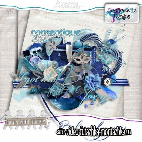 Скрап-комплект - Blue By You