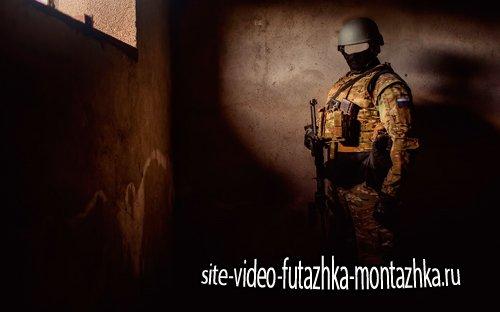 Шаблон для фотошопа  - Спецназовец