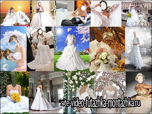 Свадебные шаблоны Psd