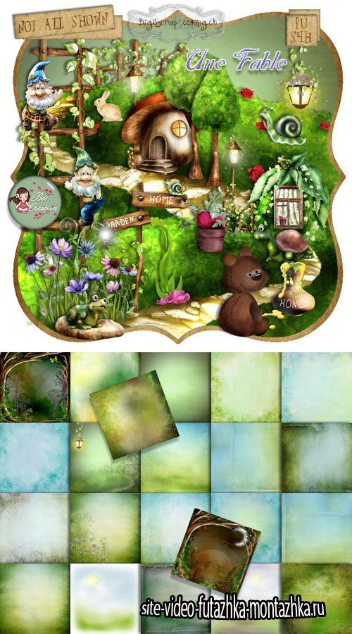 Scrap - Une Fable PNG and JPG Files