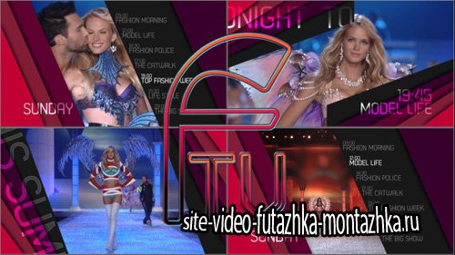 FTV / Passion For Fashion / Broadcast Package - Project for After Effects (Videohive)