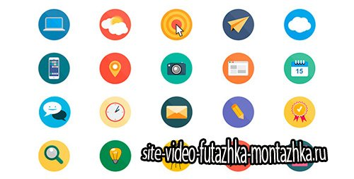 20 Animated Icons - Project for After Effects (Videohive)