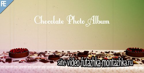 Chocolate Photo Album - Project for After Effects (Videohive)