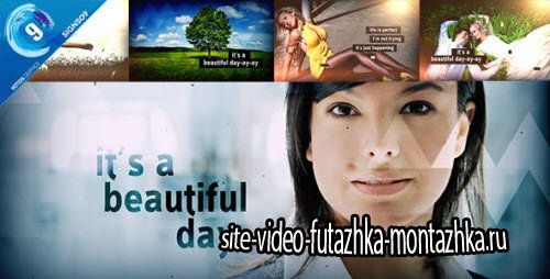 After Effect Project - It's A Beautiful Day Slideshow