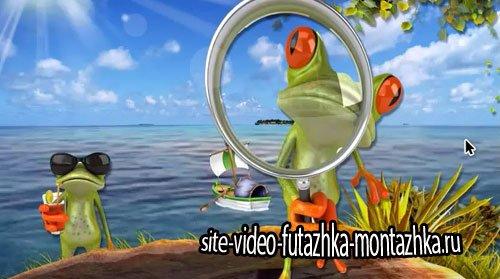 Детский проект для ProShow Producer - Забавные лягушки