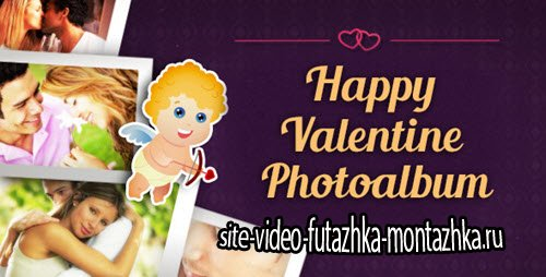 After Effect Project - Happy Valentine Photoalbum
