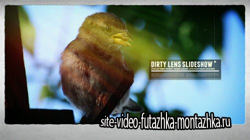 After Effect Project - Dirty Lens Slideshow