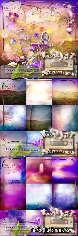 Scrap - Twilight Summer PNG and JPG