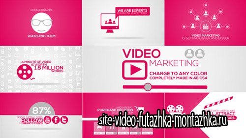 Online Video Marketing Intro - Project for After Effects (Videohive)