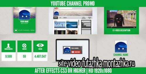 After Effect Project - Youtube Channel Promo