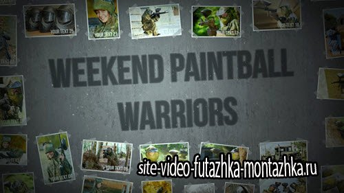 After Effect Project - Weekend Paintball Warriors