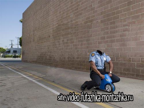 Шаблон для мужчин - Полиция преследуя преступников