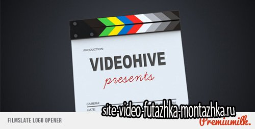Filmslate Logo Opener - Project for After Effects (Videohive)