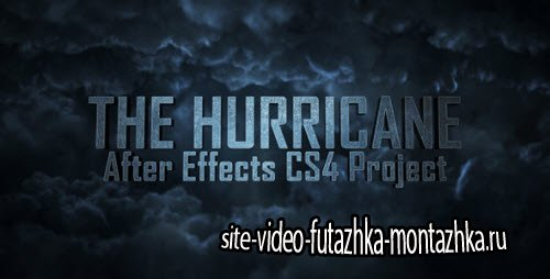 After Effect Project - The Hurricane Titles