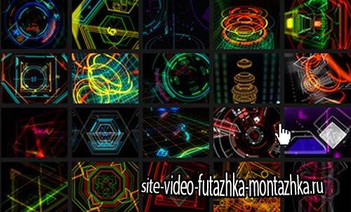 HeadsUp - VJ Footage (Resolume)