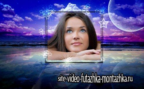 Рамка для фотошоп - Небесные мечты