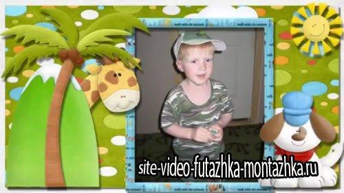 Маленький зоопарк - детский проект для ProShow Producer®