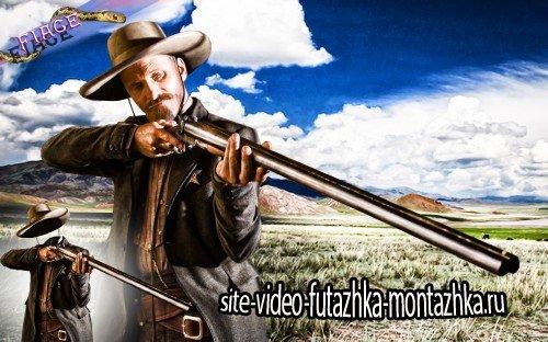 Костюм для фотошоп - По закону шерифа