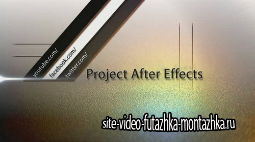 Short Title Delta - Project for After Effects