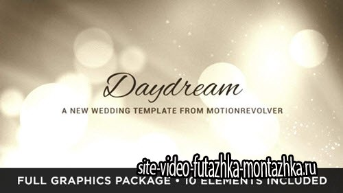 Daydream Wedding - Project for After Effects