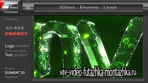 Glass Energy Logo - Project for After Effects (Videohive)