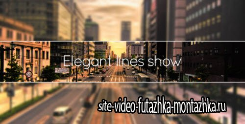 Elegant Lines Show - Project for After Effects (Videohive)
