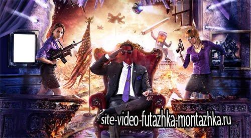 Шаблон psd мужской - Армагеддон по американски