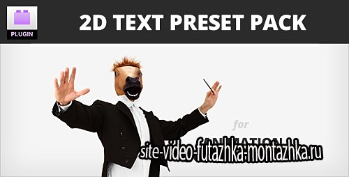 2D Text Preset Pack for Animation Composer Plug-in - After Effects Presets (Videohive)