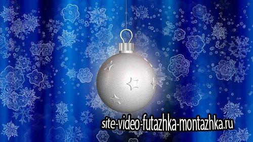 Новогодний видео-фон