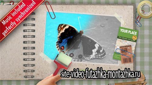 Kids Color the Photo Album - After Effects Project (Videohive)