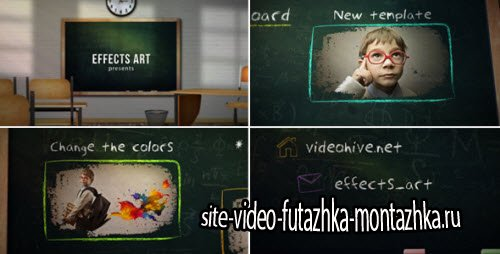School Chalkboard - Project for After Effects (Videohive)