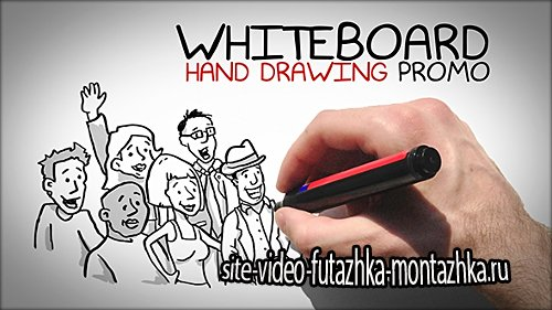Whiteboard Hand Drawing Promo - Project for After Effects (Videohive)