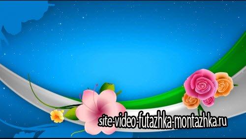 футаж-фоновая видео заставка