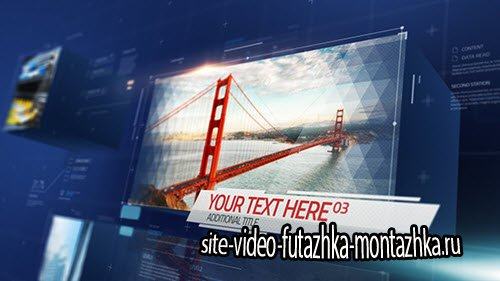Slideshow Cube - Project for After Effects (Videohive)