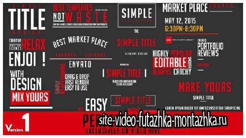 Perfect Titles - Project for After Effects (Videohive)