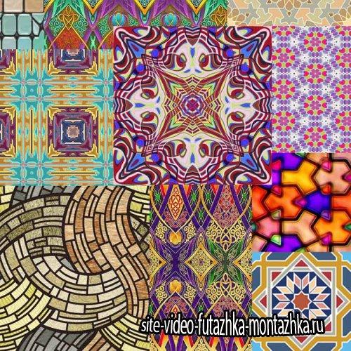 Текстуры – узоры, заливки «От витража до гобелена»