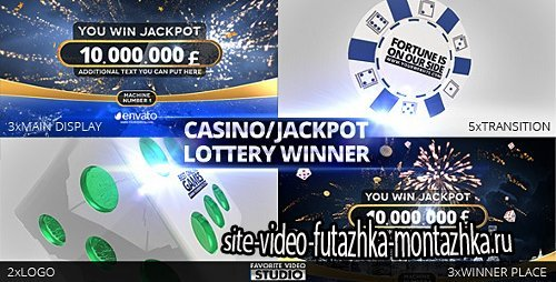 Casino/Jackpot/Lottery Winner - Project for After Effects (Videohive)