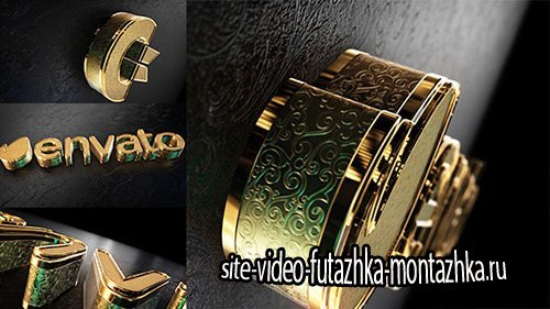 Black Gold Logo V2 - Project for After Effects (Videohive)