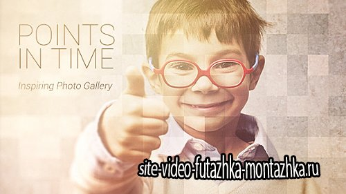 Points In Time - Inspirational Photo Gallery - Project for After Effects (Videohive)