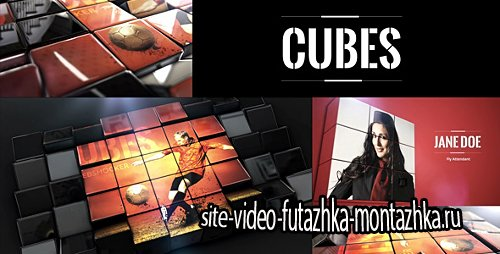 Cubes - Project for After Effects (Videohive)