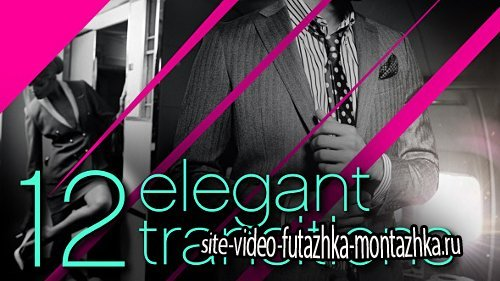 12 Elegant Transitions - Project for After Effects (Videohive)