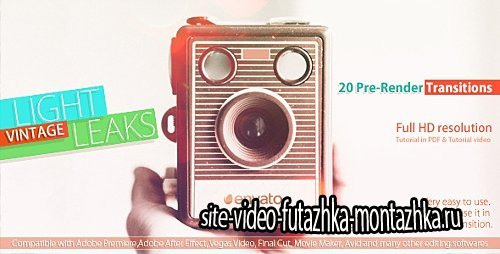 Vintage Light Leaks - Motion Graphics (Videohive)