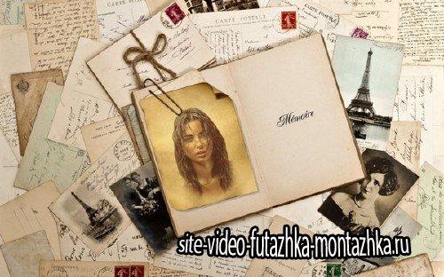 Рамка для фотомонтажа - Фото в старинном стиле