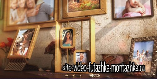 Happy Family Photo Album - Project for After Effects (Videohive)