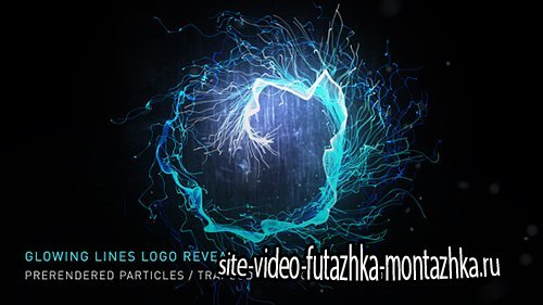 Glowing Lines Logo Reveal - Project for After Effects (Videohive)