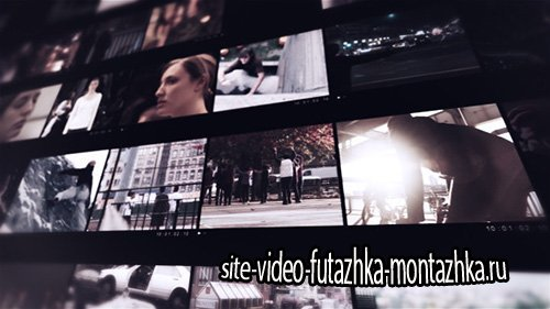 Modern Video Frame - Project for After Effects (Videohive)