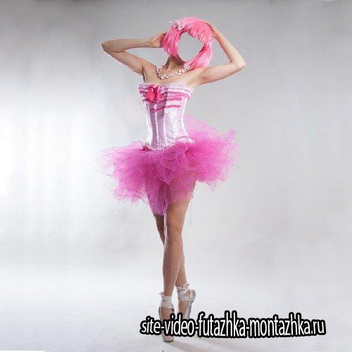 Шаблон женский - Костюм балерины