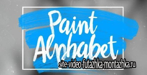 Oil Paint Alphabet - Project for After Effects (Videohive)