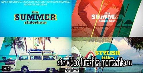 Favorite Summer Slideshow - Project for After Effects (Videohive)